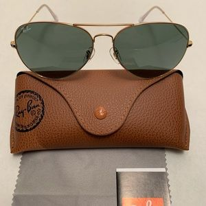 Ray-Ban Aviator Sunglasses RB3026 62-14mm L2846